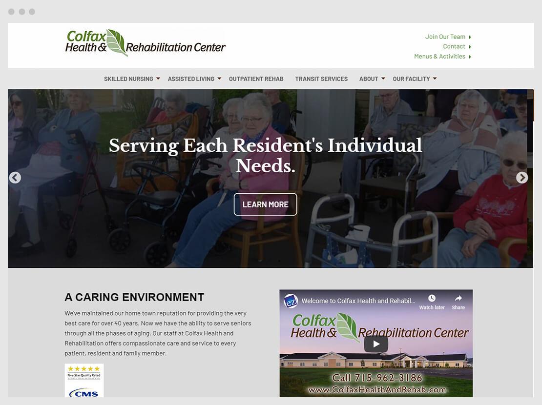 colfax web home page