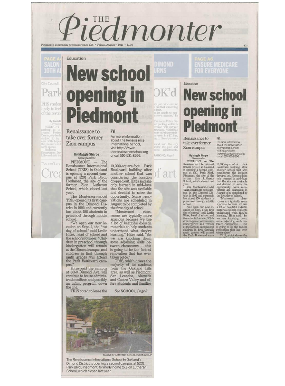 New School Opening Public Relations