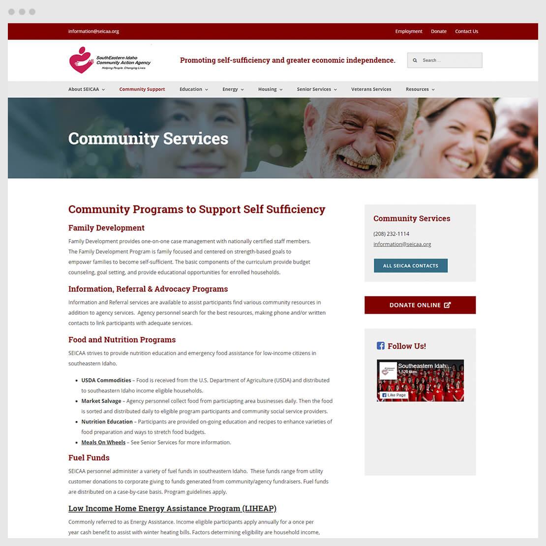 SIECCA community web page
